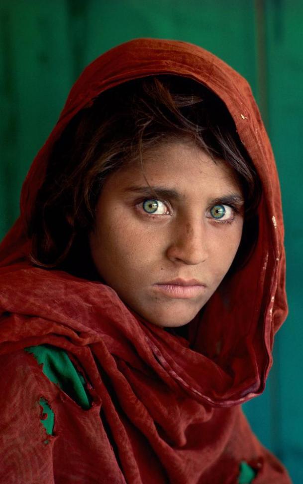 Green Eyes Steve McCurry